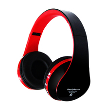hot selling headband headphones wireless bluetooth headset with fm and tf card
