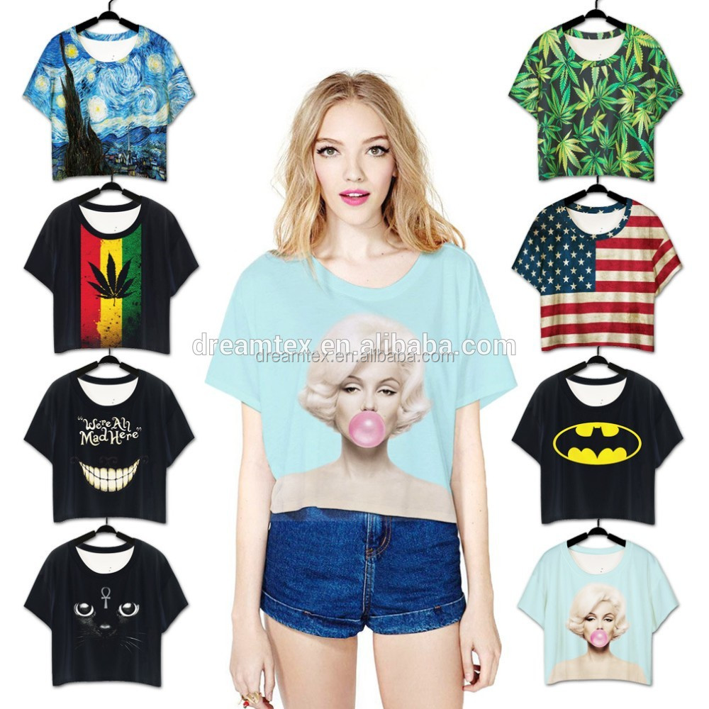 Amazon hot sales lady cotton girls outdoor t shirt