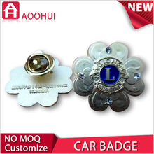 High quality zinc 3D car brand emblems