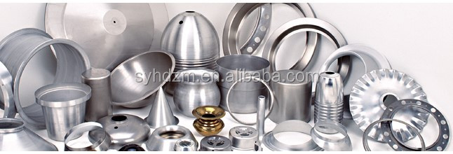 Factory Manufacture CNC Metal Spinning Product High quality aluminum alloy products