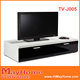 Black modern design tv cabinet/tv kabinet