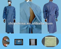 Good quality dark blue surgery gown