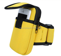 mobile cell phone arm bag case ,cycling sports wrist pouch,fitness running outdoor bag