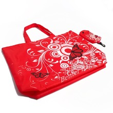 Promotional cheap customized foladble bags top quality collapsible folding reusable shopping bags china suppliers