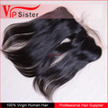 Virgin brazilian hair straight style 13x4 lace frontal closure