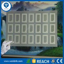 Factory Price 13.56MHz 3*7 Layout RFID Ultralight PVC Card Inlay