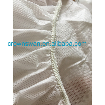 disposable medical surgical bed cover/disposable stretcher cover/nonwoven bedcover in plastic film