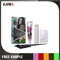 Private Label Black Magic Combs Hair Dye For Grey/White Hair