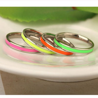 Colorful Stainless Steel Jewelry Material and Men's,Unisex,Women's Gender silver titanium rings for gemstones