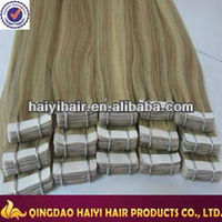 Factory Price!!!Best Selling Indonesia 16 Inch Tape Hair