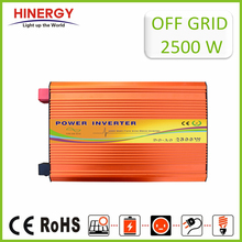 Alibaba Online Shopping 2500W Frequency Pure Sine Battery Micro Hybrid Inverter Power Generator with Charger
