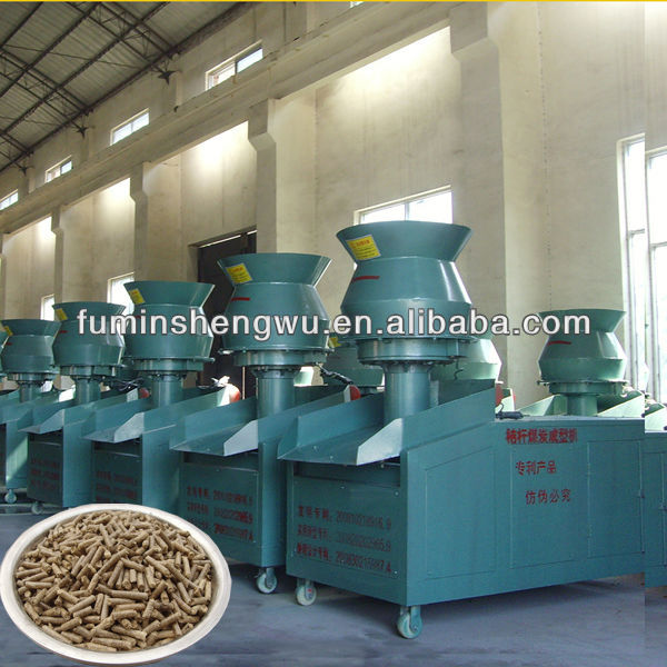 High quality biomass briquette press machine Small Particles 8-20mm factory-outlet