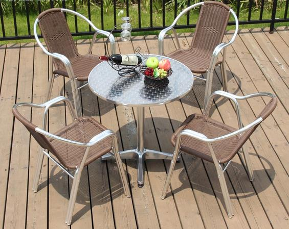 ZT-1038CT Rattan wicker arm chair and set