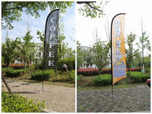 Outdoor beach advertising wind swooper feather flags teardrop flying banner and promotional tear drop beachflag
