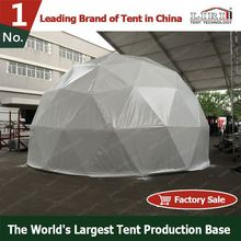 fire retardant special design half sphere tent on promotion