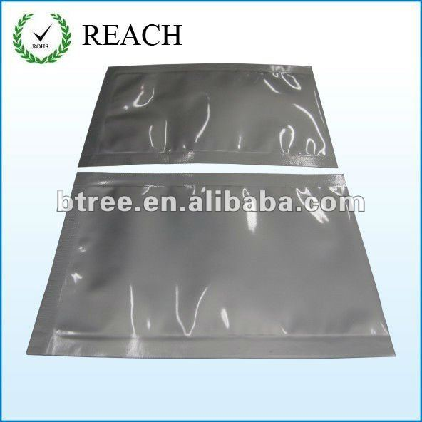silver anti static aluminum foil bag