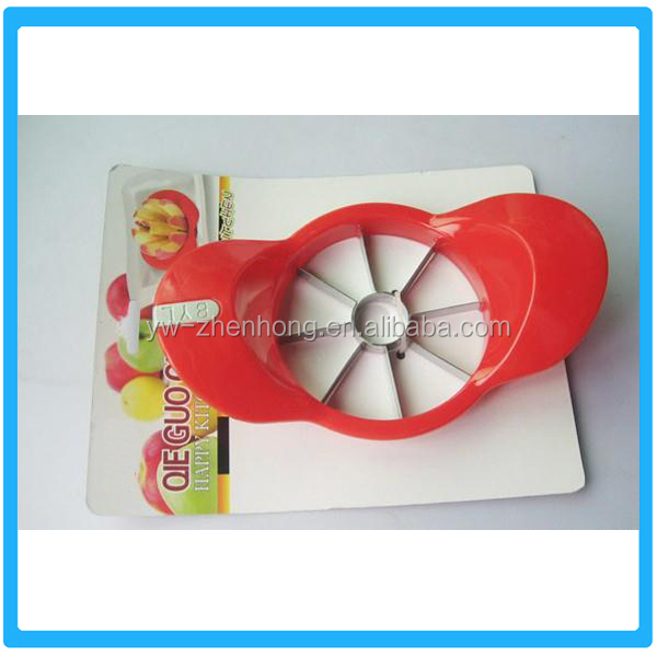 Promotional Plastic Colorful Apple Cutter