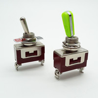 Haifei Factory Price E-TEN(C)1021 Screw Terminal Single Pole ON-OFF 12v Toggle Switch 16A on off toggle switch