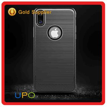 [UPO] For iphone x Case,Hot selling Soft TPU Wire drawing phone case For iphone x