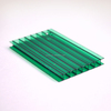 Various color 2-layer polycarbonate hollow sheet with UV protection
