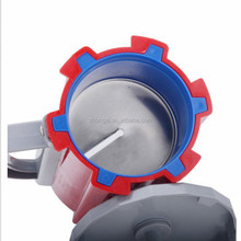 top quality 304# stainless steel manual spiral potato cutter