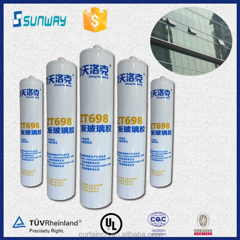 Big Glass Panels Acetic Silicone Sealant Price