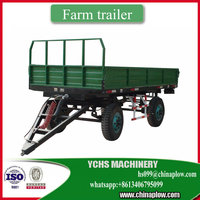Agricultural machinery 5 tons trailer for tractor