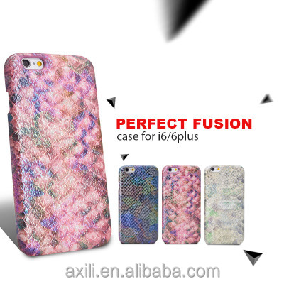 Snakeskin Texture Hard Back Cover for iphone 7 7plus 5 SE Protective Back Case for iPhone 6 & 6s Plus