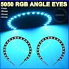 waterproof 20colors 5050 SMD LED Halo angel eyes auto LED rgb smd angel eyes 12v led ring lights