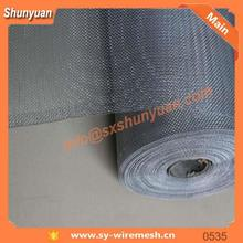 Black Aluminium Chain Fly Screen And Security Wire Mesh