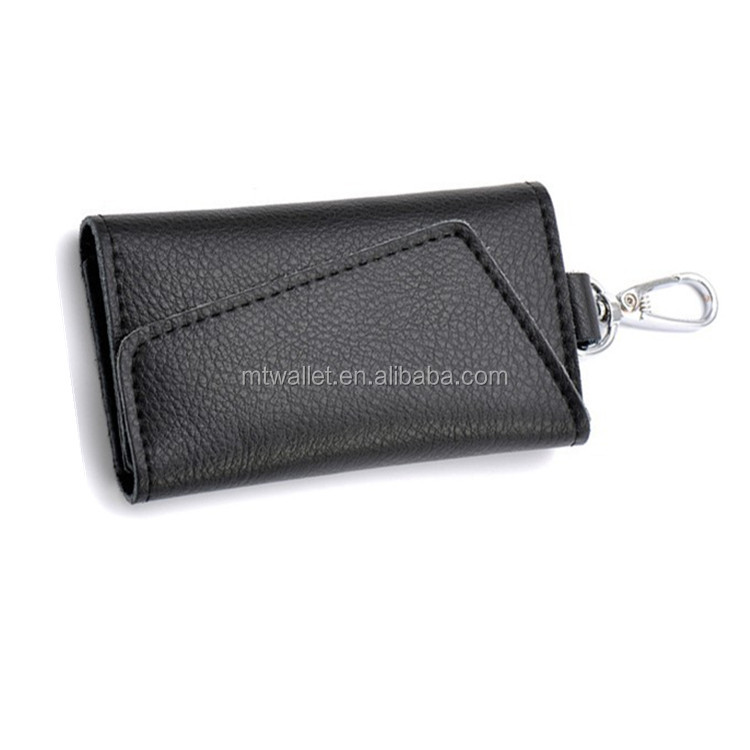 Simple Design Genuine Leather Car Key Case For Lady and Men