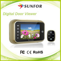 china supplier hot peephole door veiwer digital with up to 32G card