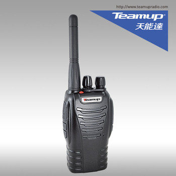 Public safety emergency calling alarm function portable 5 watts handheld two way radio walkie talkie Teamup T666