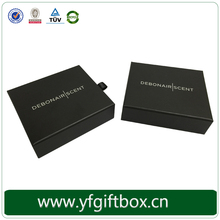 China cheap custom paper gift packaging credit card sliding drawer box