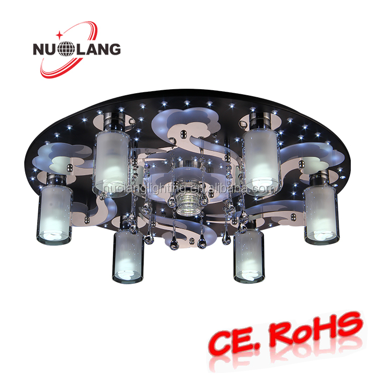 Surface mounted light fixtures decorative flower ceiling light / fluorescent light fixtures