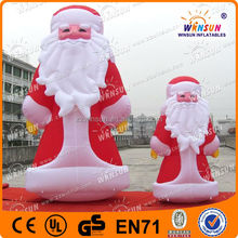 inflatable christmas santa/inflatable christmas cartoon(factory price and top quality,OEM)