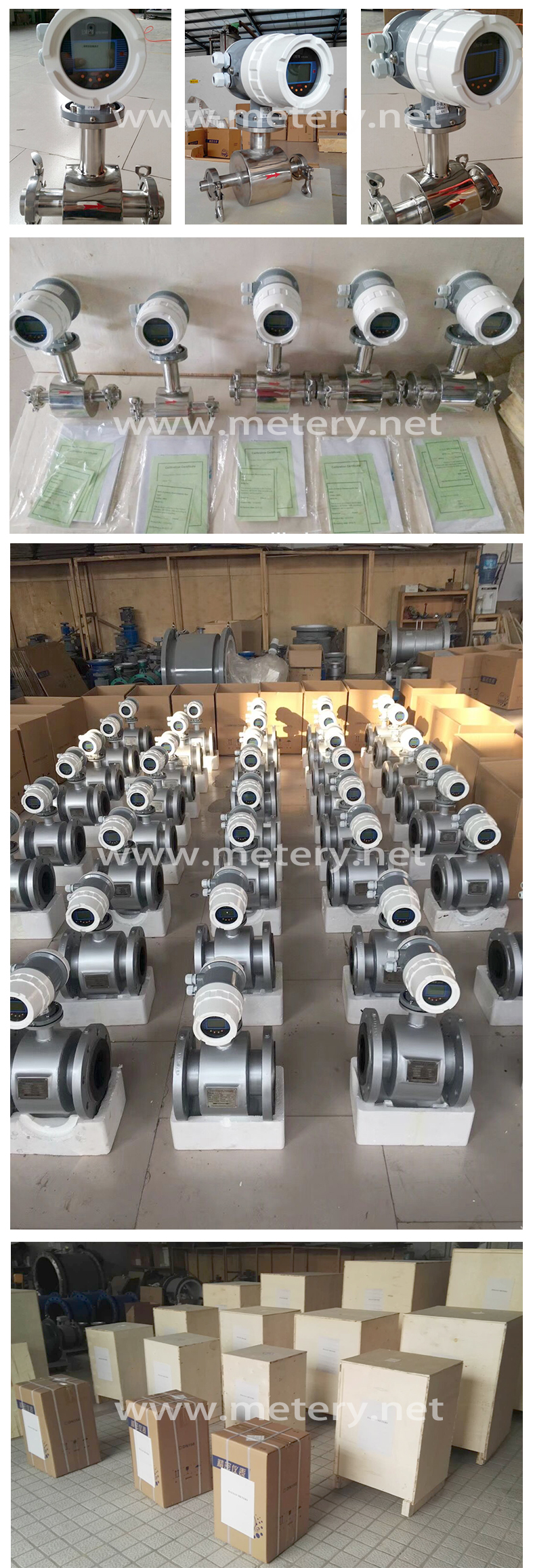 Low price water electromagnetic flowmeter