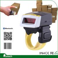 FS02 reprogramming bluetooth ring finger 1D 2D barcode scanner QR code scanner for software developer