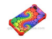 new style 2 in 1 3D blank sublimation phone case for iphone 4/4S