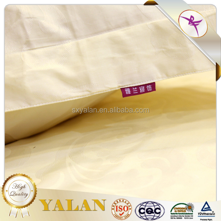 100% cotton hotel jacquard bedding set
