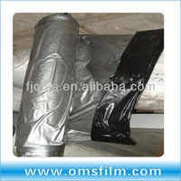 Plastic protective mulch film on roll