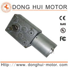 24v dc worm gear motor double shaft high torque from DH Motor
