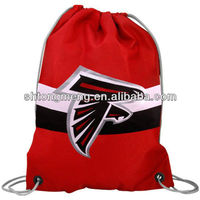 DRAWSTRING BACKPACK SCHOOL BOOK BAG TOTE SACK NFL NEW GIFT
