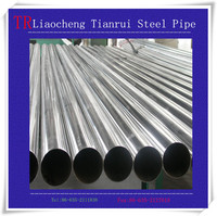 Manufacturer preferential supply High quality 304 welded stainless steel pipe