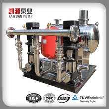 High efficiency No leakage Pipeline booster pump system
