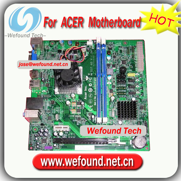 100% Working for ACER X1430 system motherboard for D1F-AD V:1.0A ITX board 15-Y32-011010