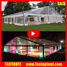 Cheap Transparent Wedding Marquee Party Gala Tent House For Banquet
