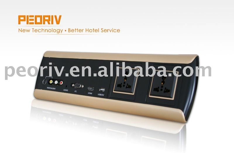 hotel room all-in-one media panel