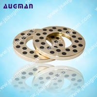 High tensile brass bronze backing bushing, graphite slide pads,copper thrust washer