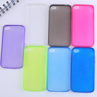 0.3mm ultra thin crystal clear soft tpu silicone case for apple iphone 4